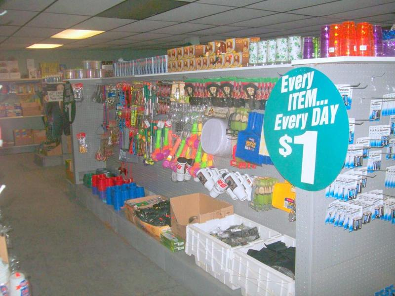 Dollar Items are daily at Gokeys Auction Store