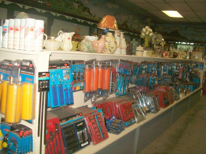 Get your camping supplies at Gokeys Auction Store